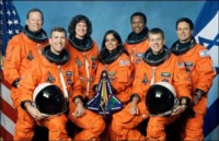 [The STS-107 Crew]