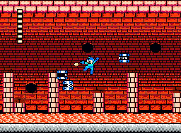 [décor] La lave Megaman-heatman
