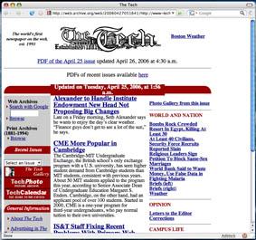 [The Tech, April 2006]
