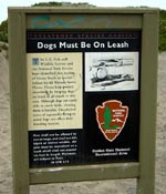 [Dogs on Leash Sign]