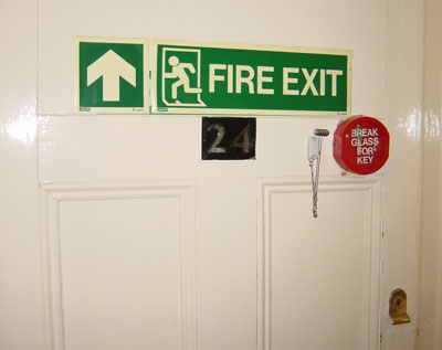 [Fire Exit Room]