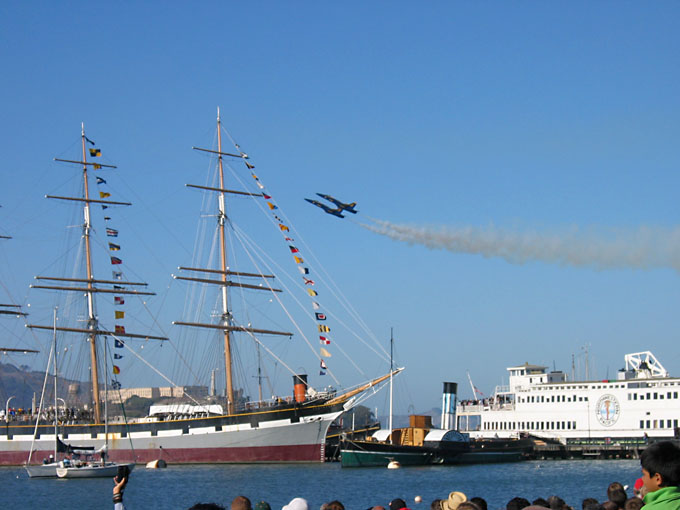 [Blue Angels and Balclutha]